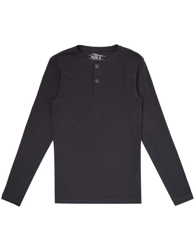 Herren Serafino-Shirt aus Baumwolle