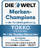 Auszeichnung Marken Champions