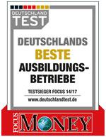 Auszeichnung Deuschlands Beste Ausbildungsbetriebe
