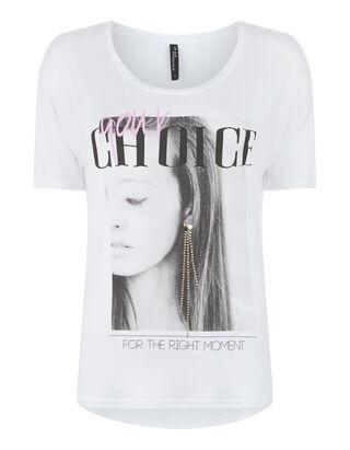 Damen Shirt mit Foto-Print