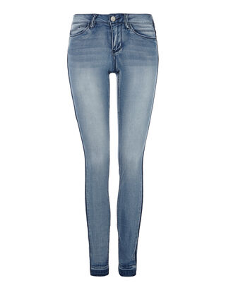 Damen Stone Washed Skinny Fit Jeans