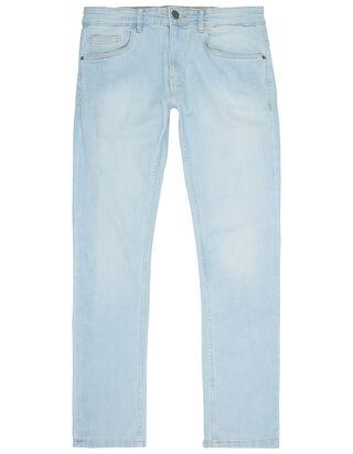 Herren Slim Fit Jeans im Stone Washed Look
