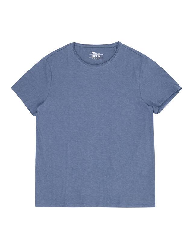 Herren T-Shirt aus Slub Jersey - Takko Fashion