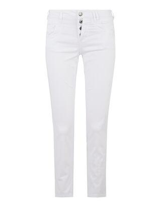 Damen Slim Fit Jeans aus Coloured Denim
