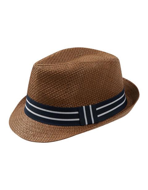 Herren Strohhut mit Hutband | Accessoires > Hüte > Strohhüte | Takko