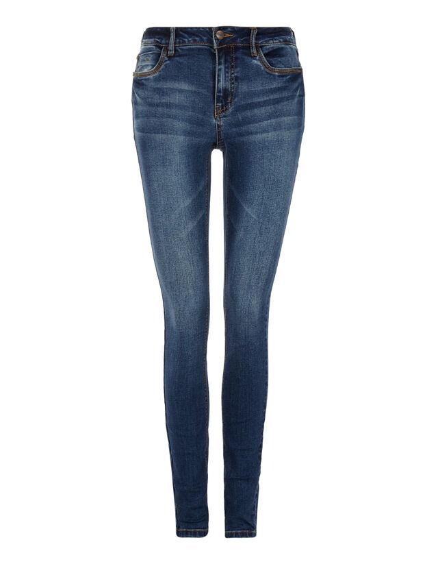 1f3dfc7f228e Damen Stone Washed Skinny Fit Jeans - Takko Fashion