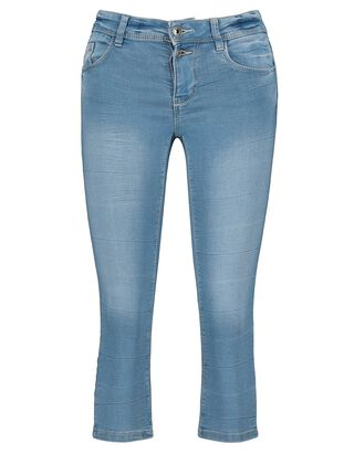 Damen Capri Jeans mit Stretchanteil