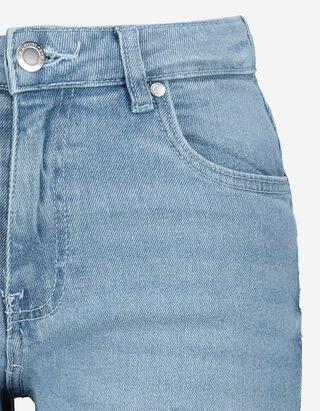 Damen High Waist Straight Fit Jeans