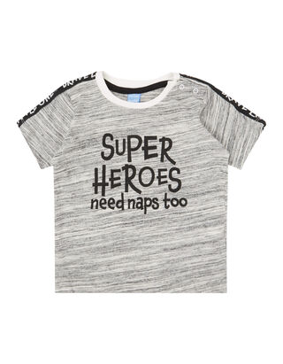 687d39a88c23 Baby T-Shirt mit Message-Print