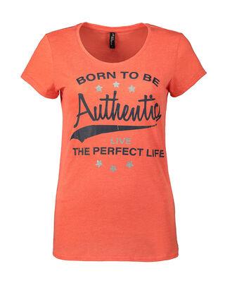 Damen T-Shirt mit Print und Message