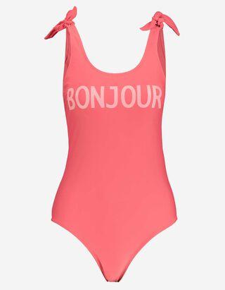 Damen Badeanzug mit Print