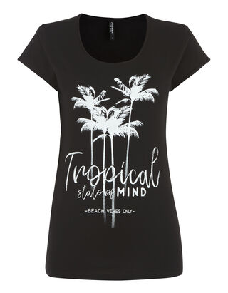 76cc039d842b1a Günstige T-Shirts für Damen  trendig   bequem - Takko Fashion
