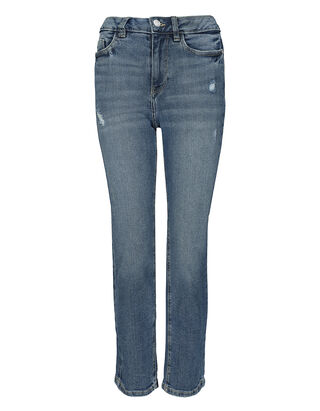 Damen Jeans im Stone Washed Look