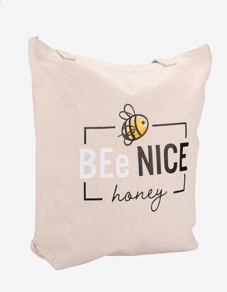 Damen Handtasche - Message-Print