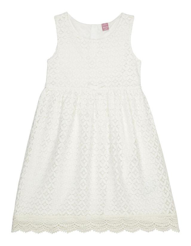 Mädchen Kleid aus Spitze - Takko Fashion