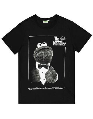 Herren T-Shirt mit Krümelmonster-Print