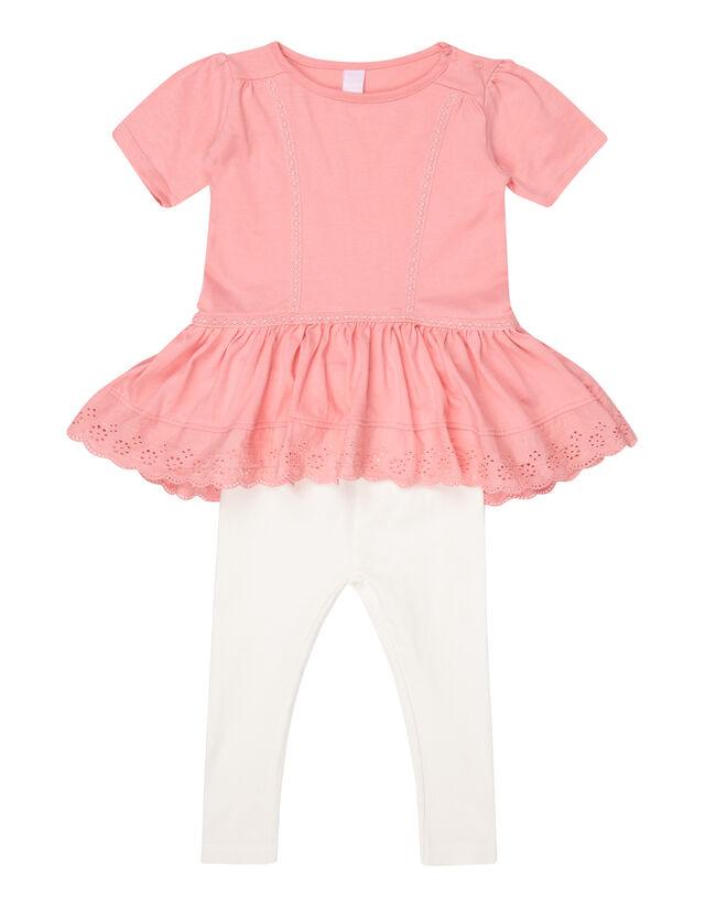Baby Kleid und Leggings im Set - Takko Fashion