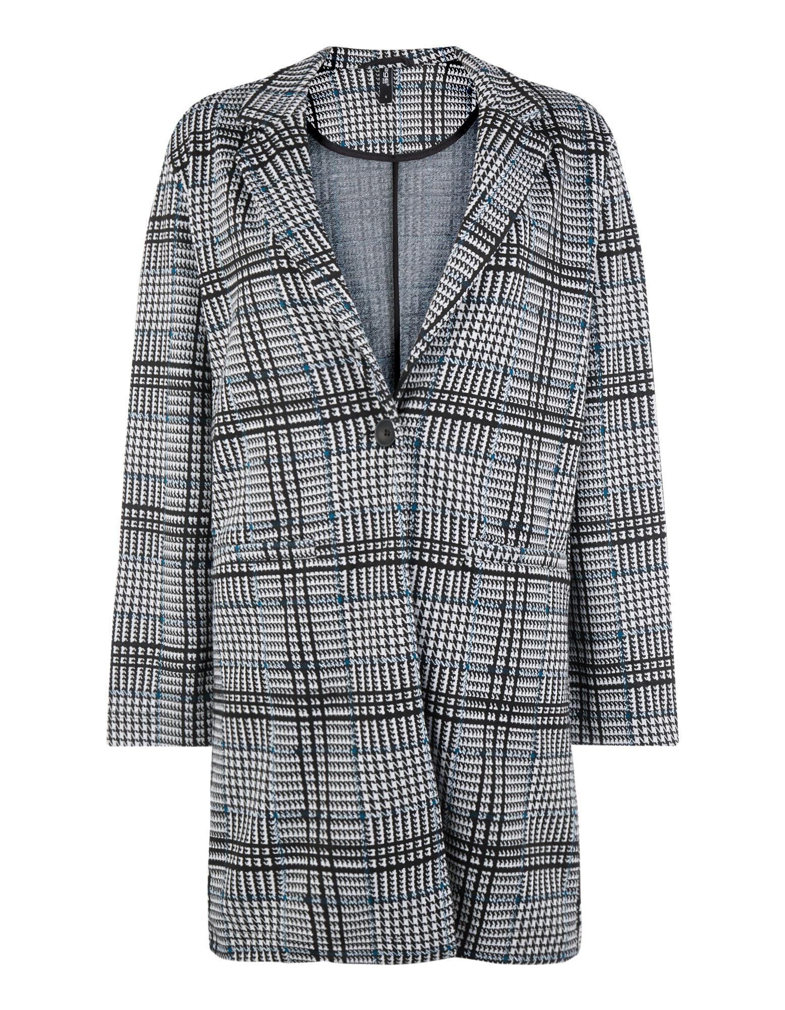 Damen Mantel mit Glencheck