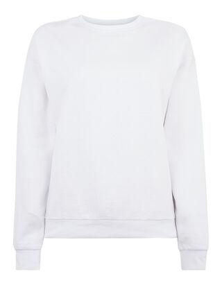 Damen Sweatshirt mit Rippenbündchen