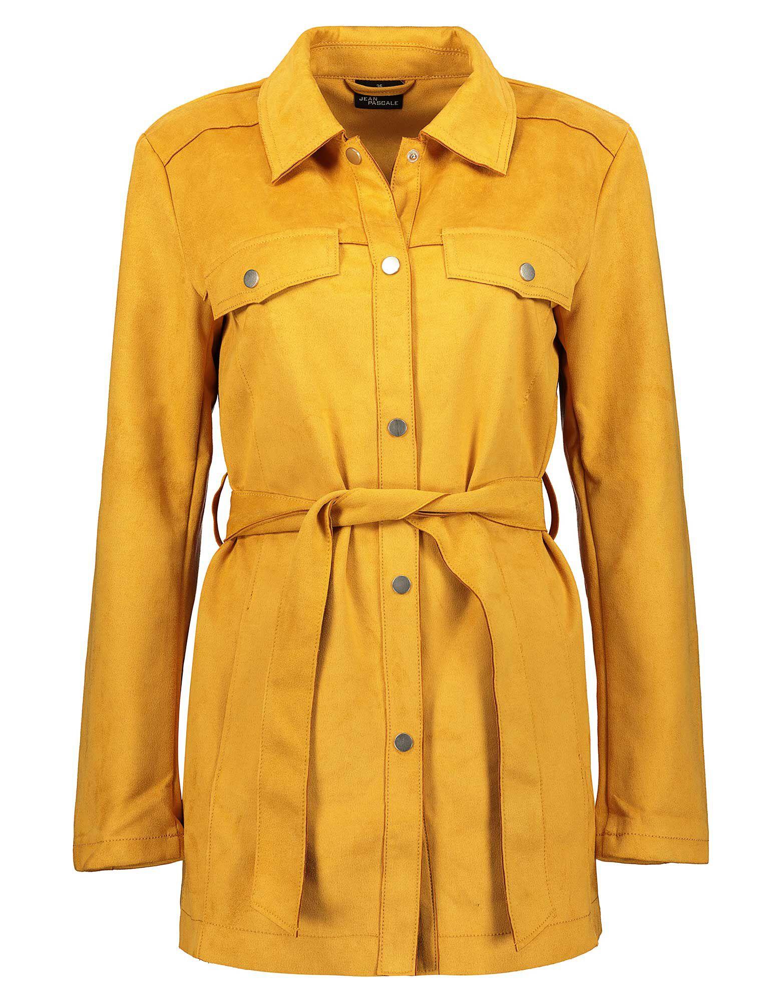 Damen Jacke in Velourslederoptik Takko Fashion