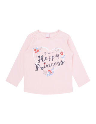 ad5a9c82ee Baby Longsleeve mit Message-Print