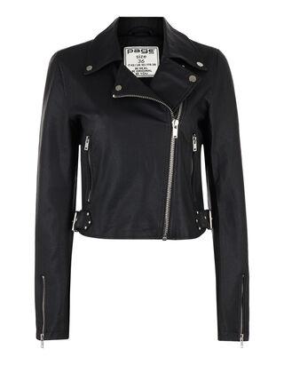 Damen Biker-Jacke in Lederoptik