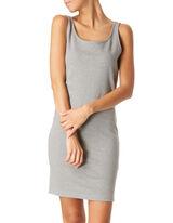 Damen Kleid mit Rundhalsausschnitt