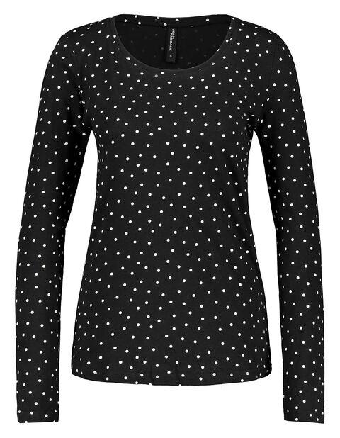 Damen Langarmshirt aus Baumwolle | Bekleidung > Shirts > Langarmshirts | Takko