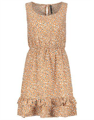 Damen Kleid - Animal-Muster
