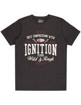 Herren Regular Fit T-Shirt mit Print
