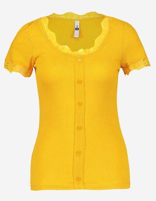 Damen T-Shirt aus Viskose-Mix