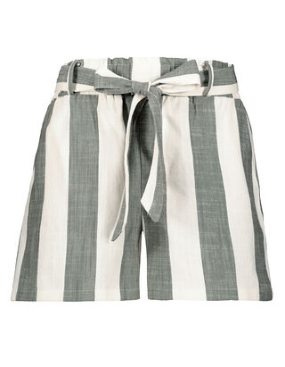 Damen Paperbag Shorts mit Viskose-Anteil
