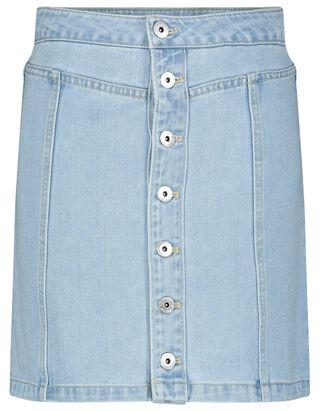 Damen Jeansrock mit Knopfleiste