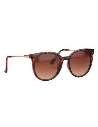Damen Sonnenbrille - Metallic-Details