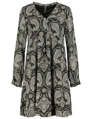 Damen Kleid mit Paisley-Muster