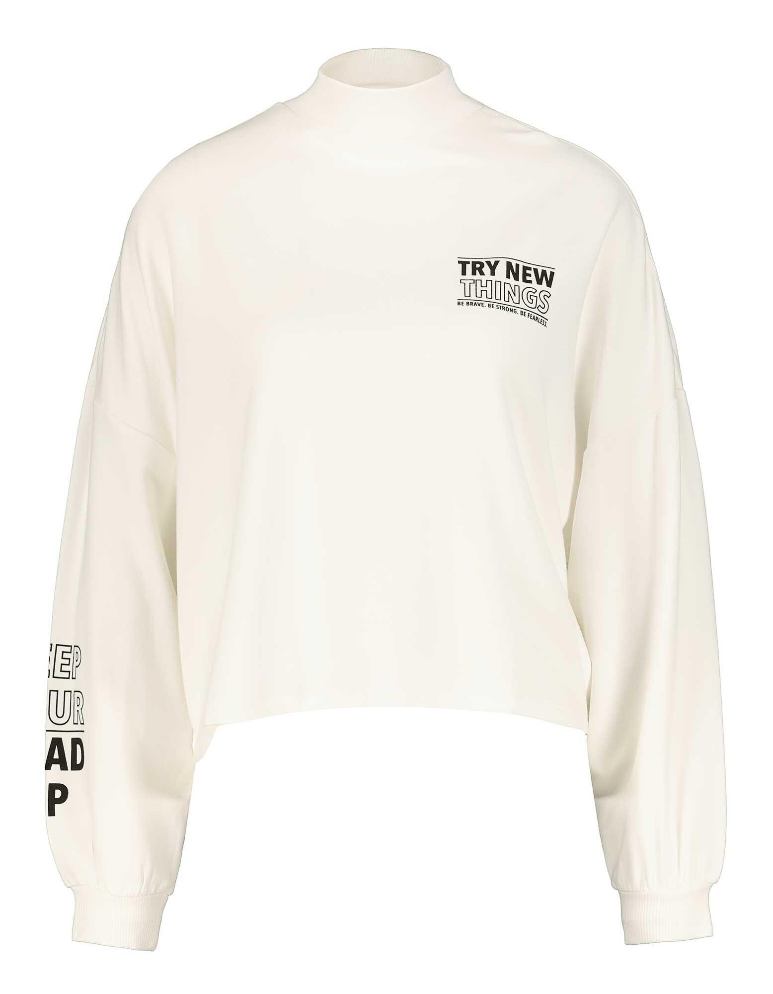 Damen Sweatshirt mit Stehkragen Takko Fashion