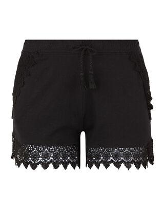Damen Shorts - Häckelspitze