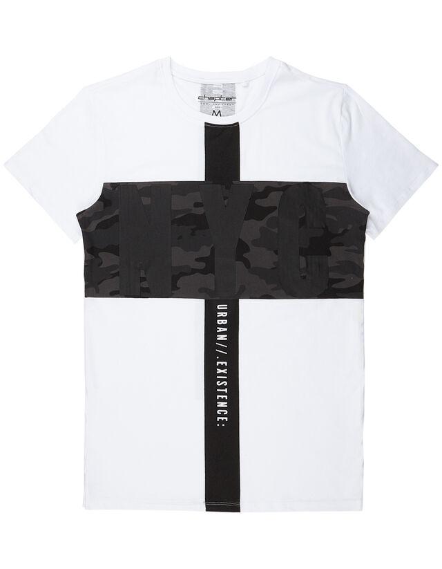 95daf25bf1840f Herren T-Shirt mit Print - Takko Fashion