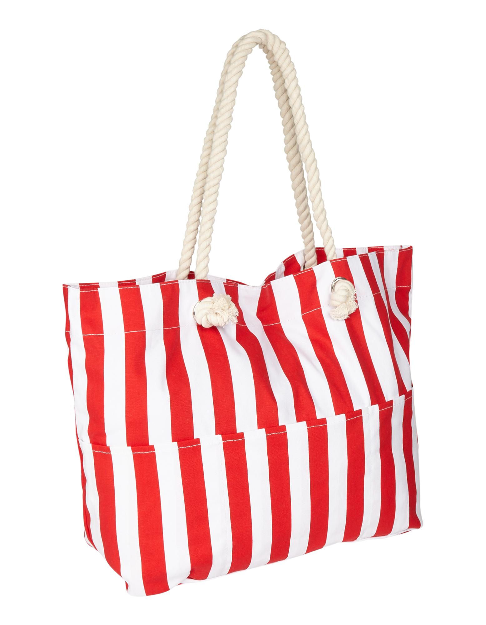 Colours of the World Damen Strandtasche mit Streifenmuster  | 81641861000102