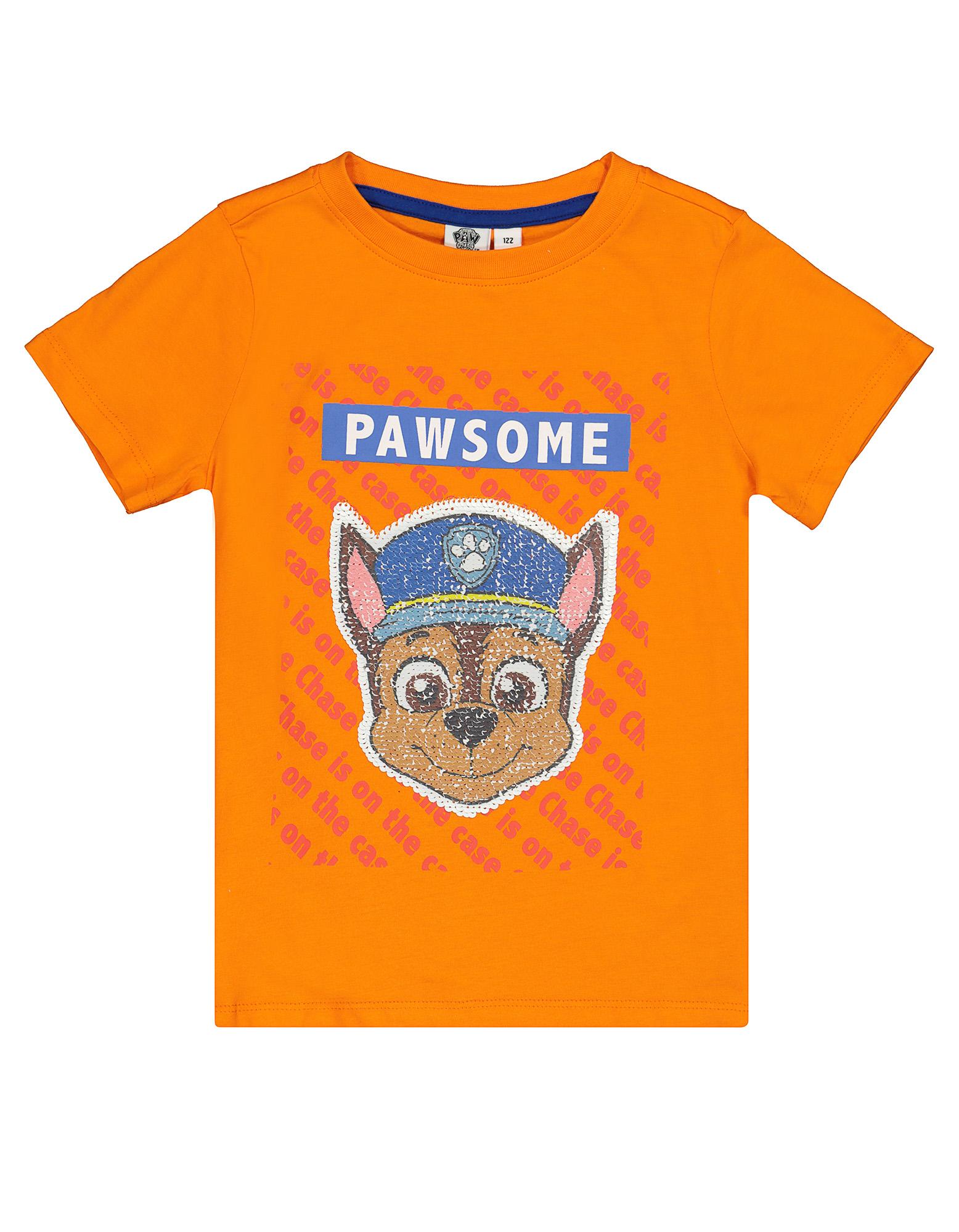 jungen t shirt mit paw patrol wendepailletten takko fashion
