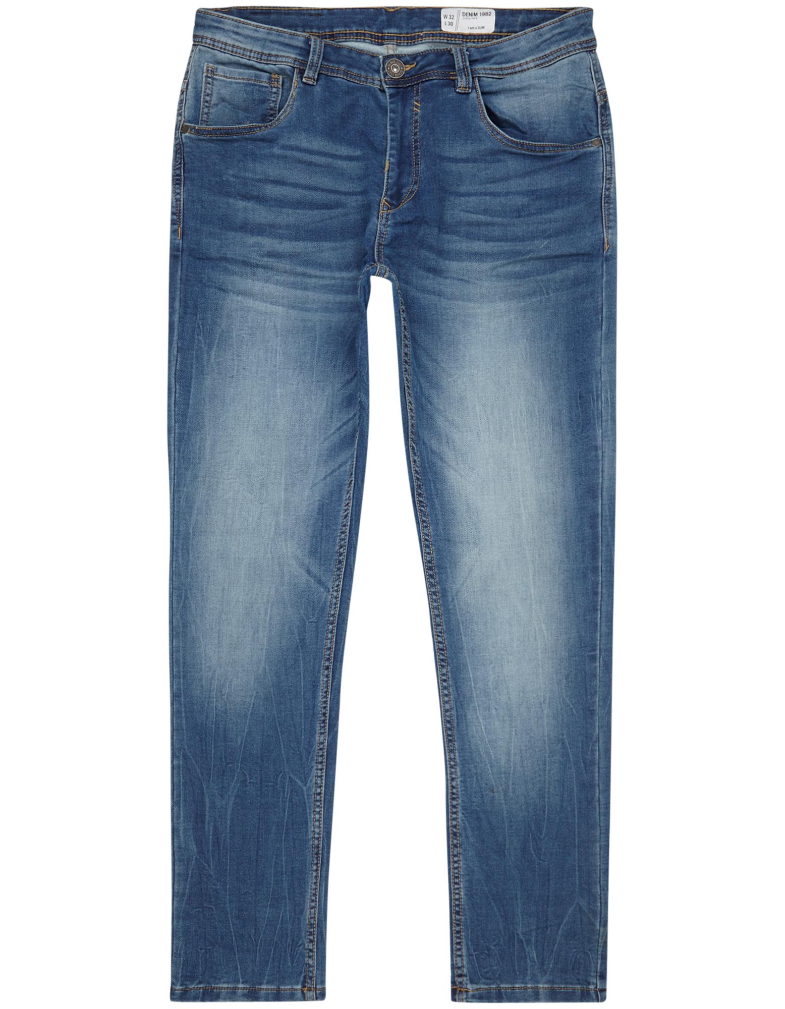Herren Stone Washed Slim Fit Sweat Jeans    81533595300507