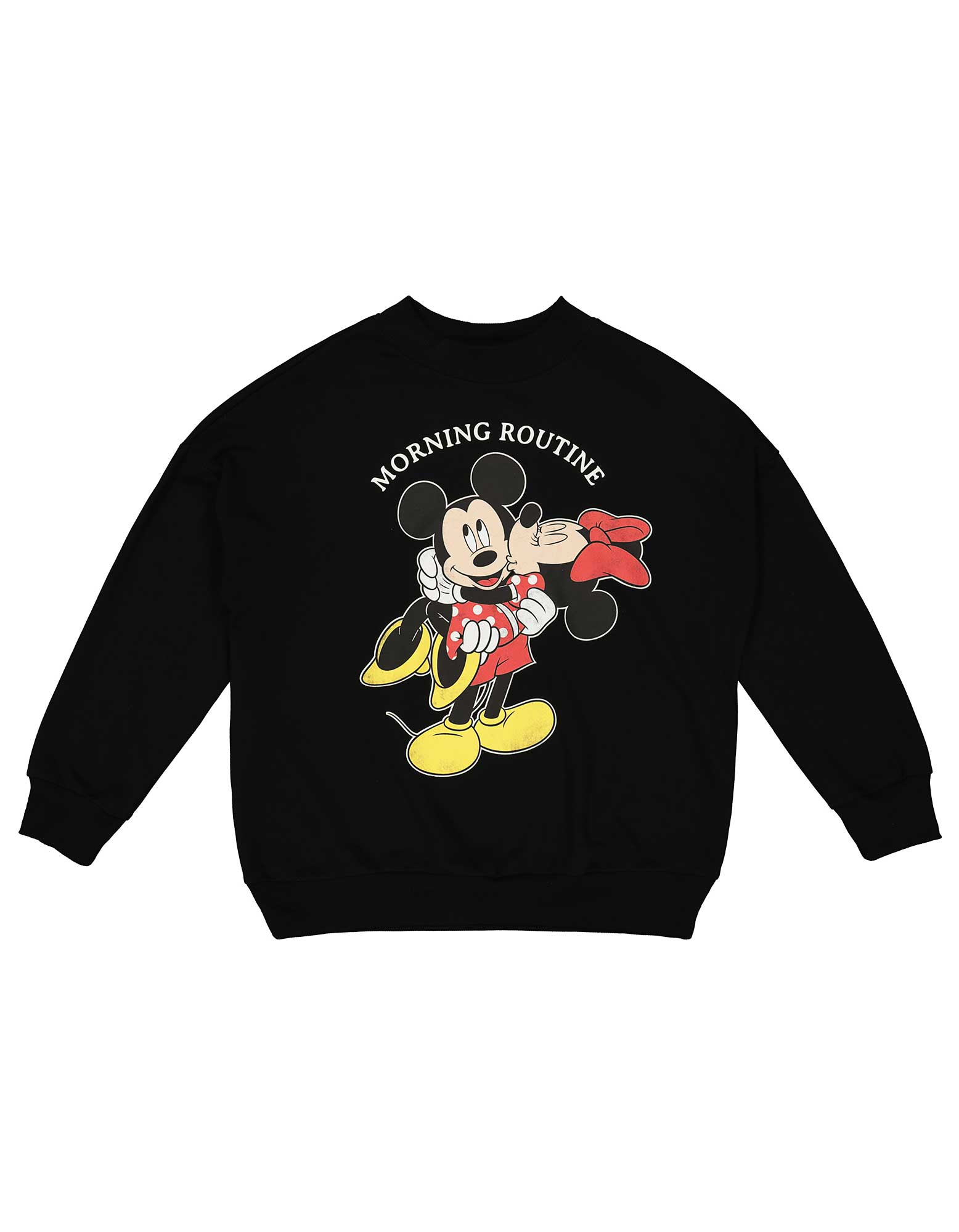 Damen Sweatshirt mit Mickey Mouse Print Takko Fashion