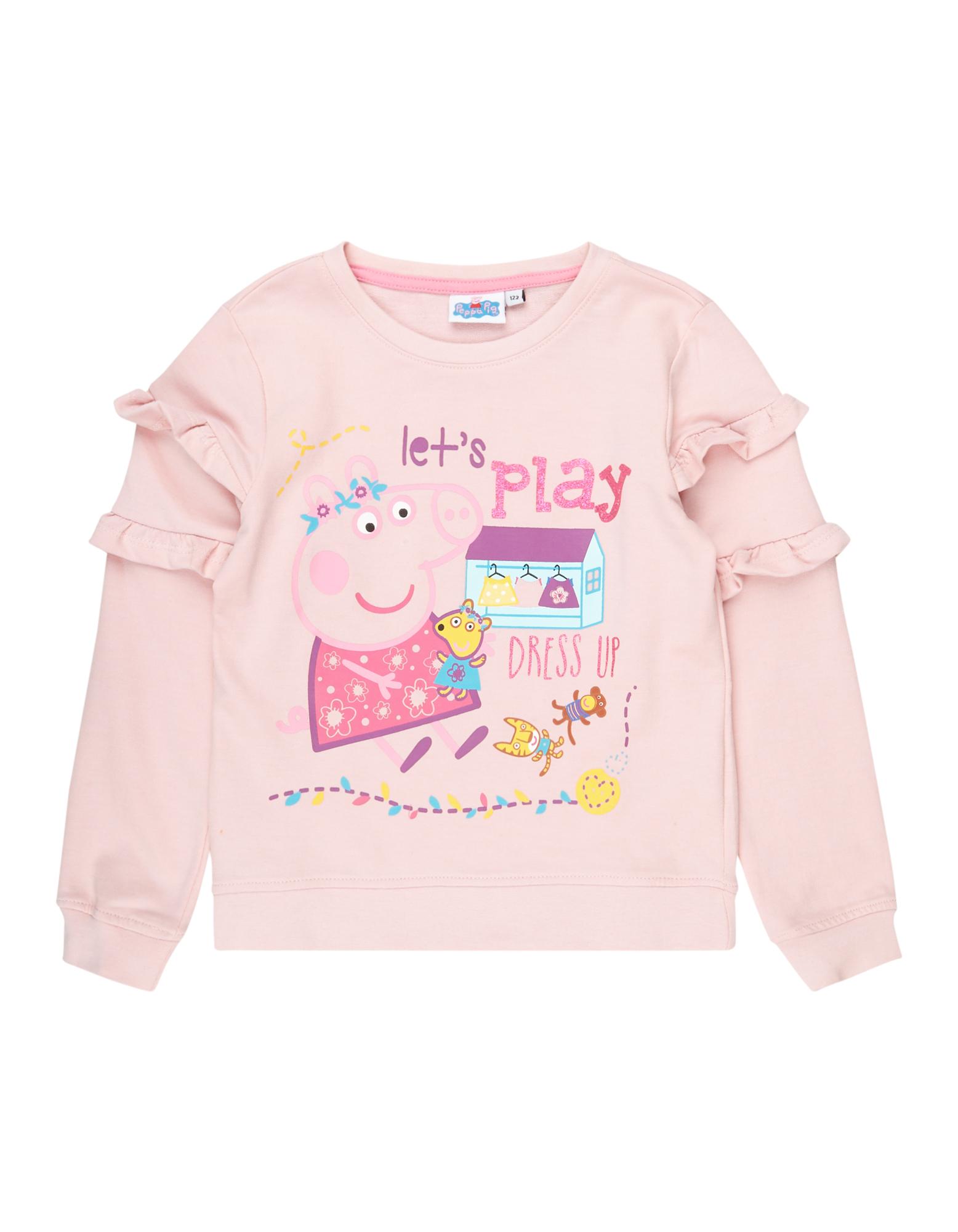 Mädchen Sweatshirt mit Peppa Pig-Print  | 81598234040909