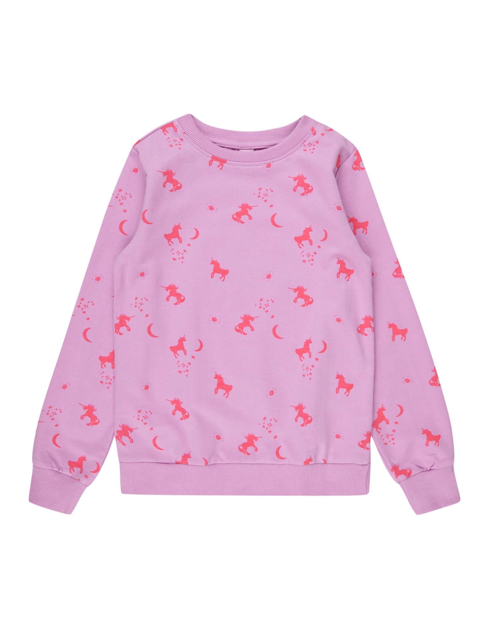 Mädchen Sweatshirt mit Einhorn-Prints  | 81487219970501