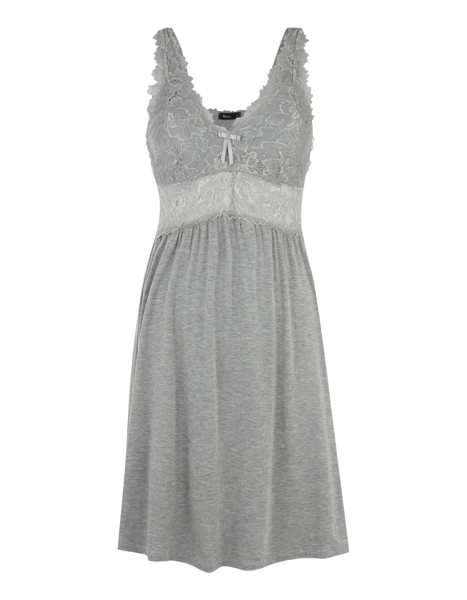 a10a0bbfee2aa9 Damen Nachthemd mit Spitzenbesatz - Takko Fashion