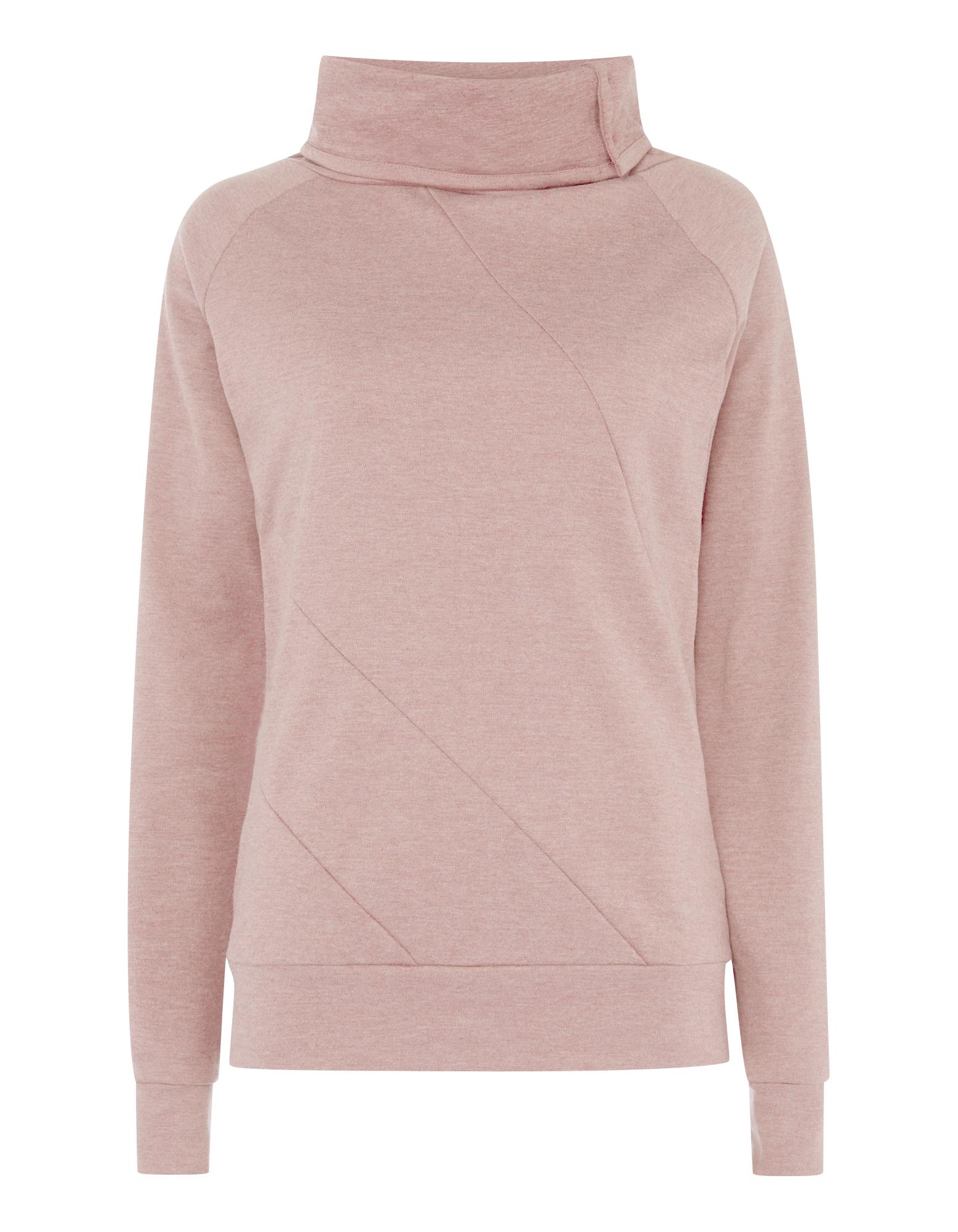Damen Sweatshirt mit Tubecollar