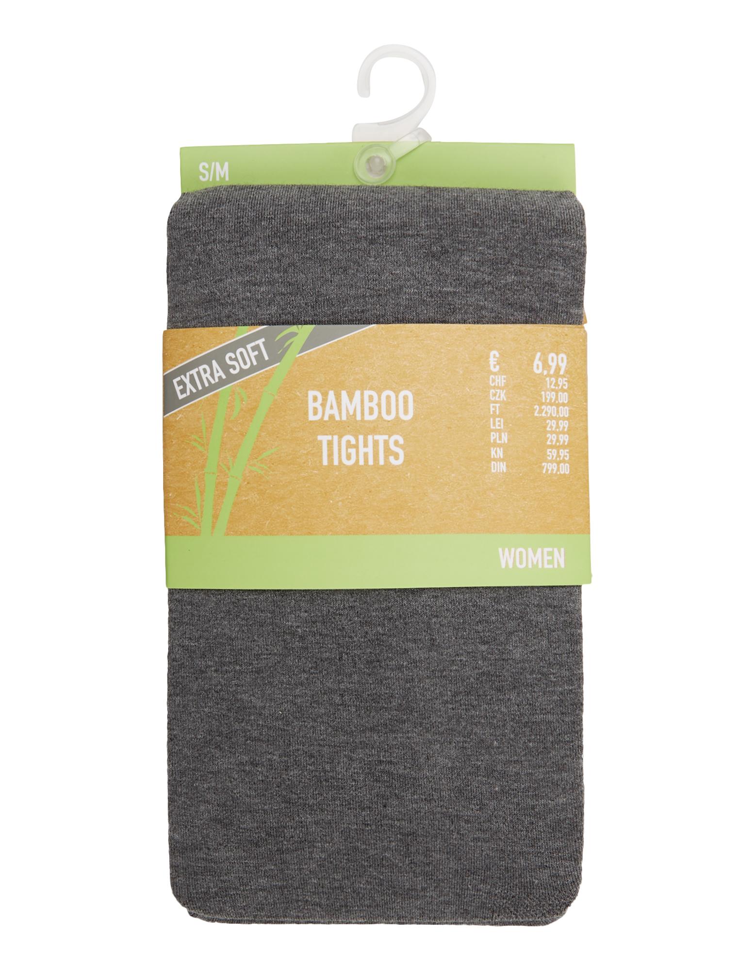 Damen Bambus Strumpfhose in Melangeoptik | Unterwäsche & Reizwäsche > Strumpfhosen | Takko
