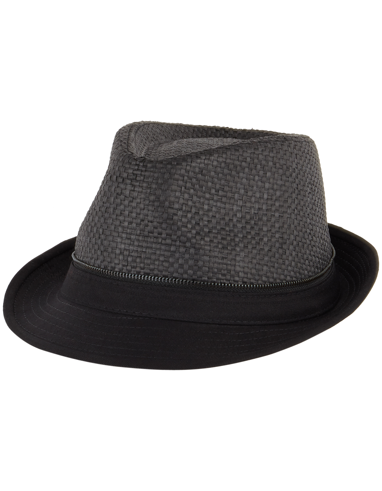 Herren Trilby mit Kontrastbesatz | Accessoires > Hüte > Trilbys | Takko