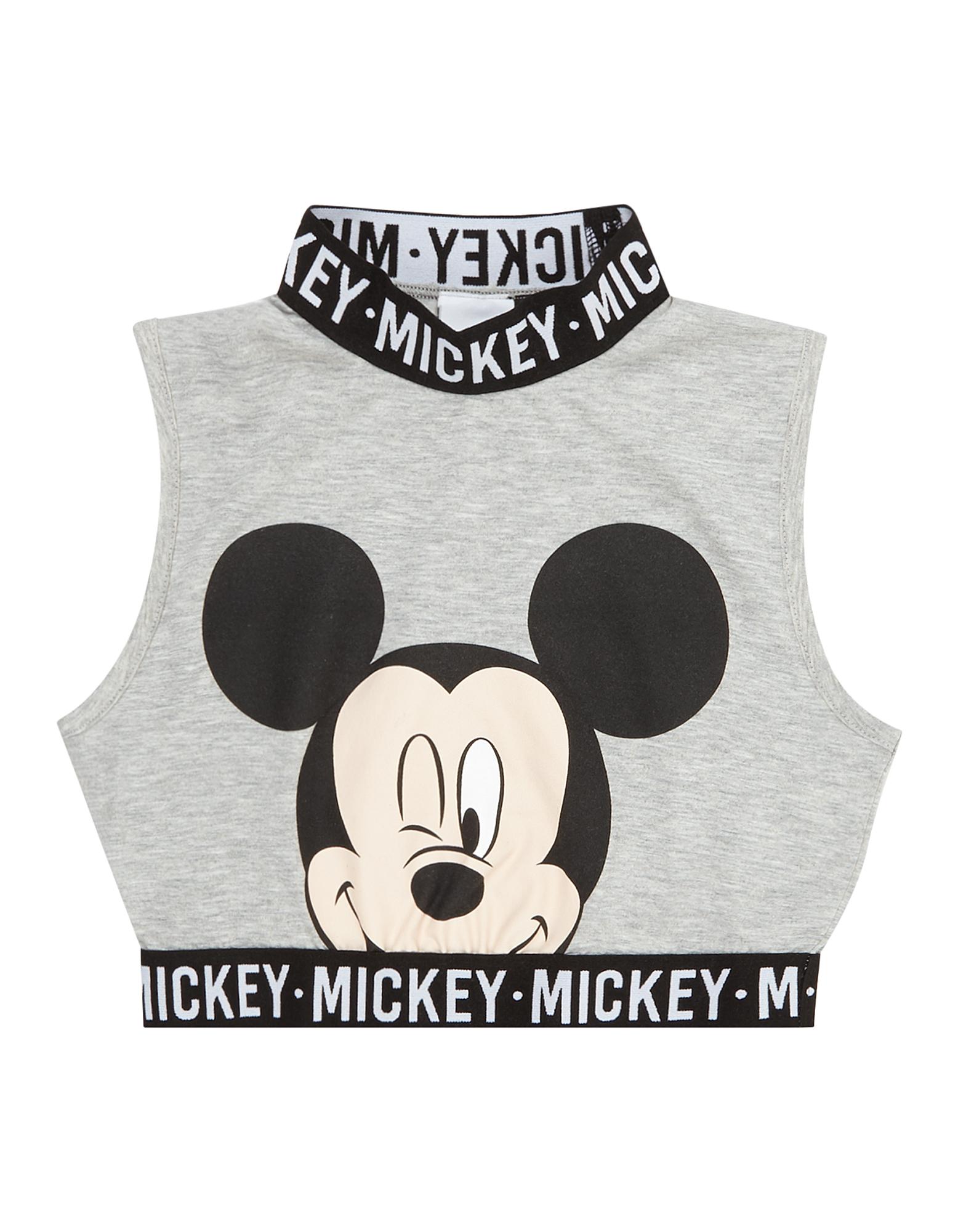 Mädchen Crop-Top mit Mickey Mouse-Print - Takko Fashion