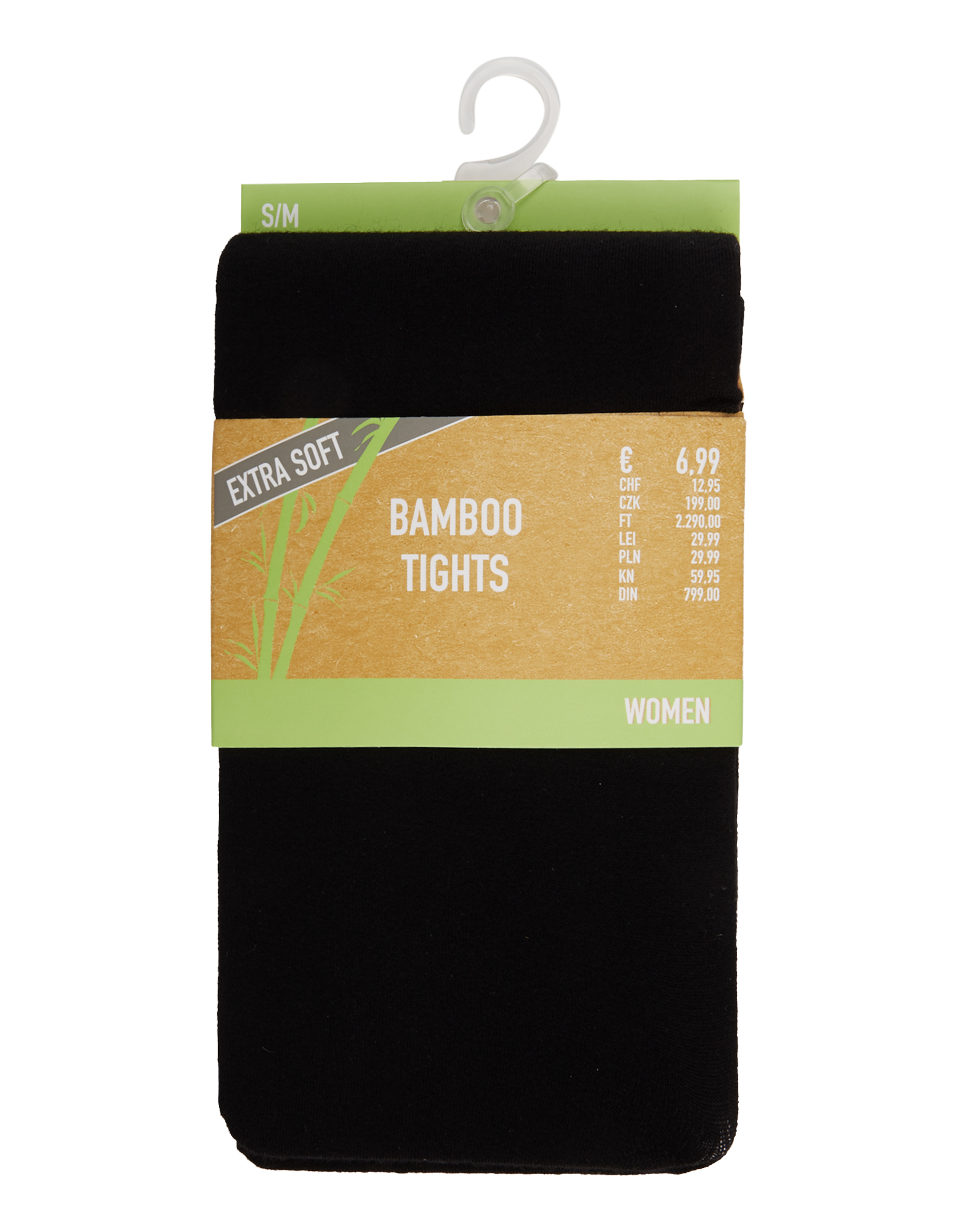 Damen Bamboo Strumpfhosen mit Komfortbund    81539081900206